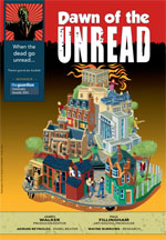 <span style='font-size: 16px;'>Dawn of the Unread&#58; <em></em>When the dead go unread &#46;&#46;&#46; There&#39;s gonna be trouble</span>